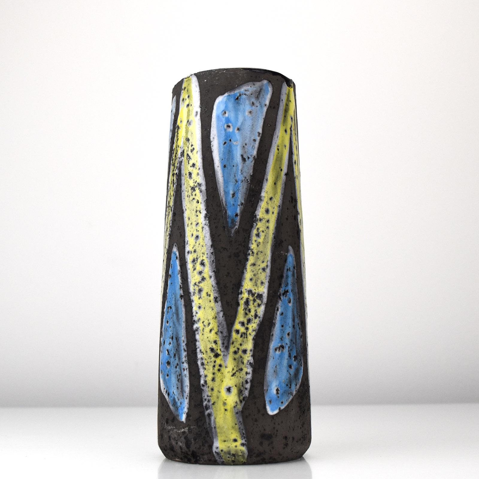 Mid Century Modern Vintage 1950s California Style Ceramic Pottery vase